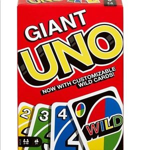 Brand new sealed box giant uno ships same day